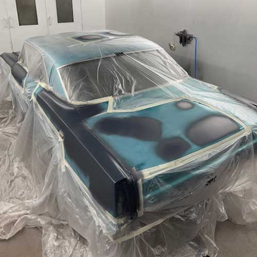 The Chevy ll SS Going Into Primer