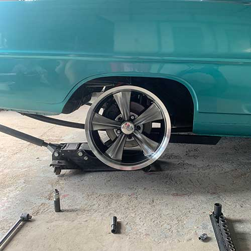 1967 Chevy ll SS New Wheels